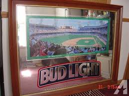 bud light for sale historic tiger stadium bud light mirror for sale in irons