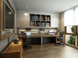 Home Offices Recessed Lighting Trim Laminate Flooring And - Home office room design