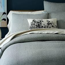 gray textured duvet cover gray bedding duvet comforters dark grey