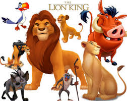 lion king clipart etsy