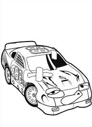 coloring pages drifting cars tin top losing race in roary the racing car coloring pages best