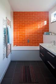 Blue And Orange Bathroom Decor The Powder Room Rainbow Bathrooms In Every Shade Of Roy G Biv