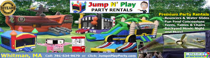 party rentals ma jump n play party rentals