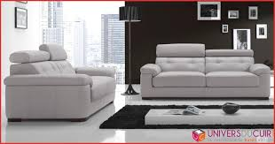 canape cuir et tissu salon canapé cuir complet 73236 canape cuir et tissu décoration