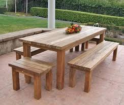 Wood Outdoor Patio Furniture Rustic Wood Outdoor Furniture Large Size Of Patio Set Wooden