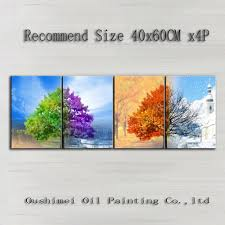 4 piece oil painting cheap china online wholesale buy stores