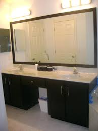 Large Rectangular Bathroom Mirrors Moen Rockcliff Large 283 In X 36 Rectangular Frameless