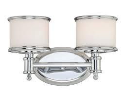 Chrome Bathroom Sconces Lighting Ideas 2 Lights Polished Chrome Bathroom Wall Sconces