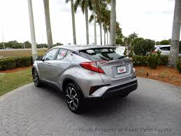 lexus of palm beach 2018 new toyota c hr xle fwd at royal palm toyota serving