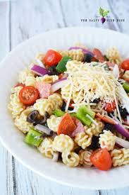 cold pasta salad dressing italian pasta salad with zesty dressing salty side dish