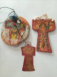 17 best images about paper and silk ornaments on