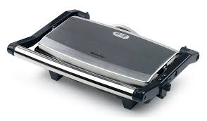 Toaster Machine Breville Vst049 Cafe Style 2 Slice Sandwich Toaster Stainless