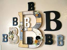 monogram letters for wall glitter name letters lovely ideas wall