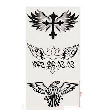 tattoo decal paper buy eagle cross totem design waterproof temporary tattoo sticker paper