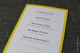 id e menu mariage idée de menu de mariage menu mariage idée de menu
