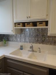 backsplash for white kitchen remodelaholic gray and white kitchen makeover with hexagon tile