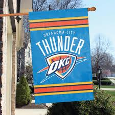 Sacramento City Flag Oklahoma City Thunder Premium Banner Flag