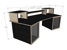 Build A Studio Desk Plans by 100 Small Recording Studio Desk Best 25 Recording Studio