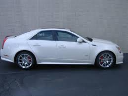 4 door cadillac cts 2014 cadillac cts v base base 4dr sedan sedan 4 doors white for
