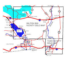 arizona gold maps gold placers and gold panning and metal