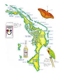 Map Bahamas Bahamas Dry Forest Journal