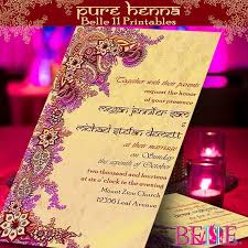 mehndi cards diction style for rasm e henna ceremony invitation cards