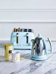 lighten your kitchen with this gorgeous sky blue kettle and