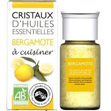 bergamote cuisine cristaux d huiles essentielles à cuisiner bergamote 18 g sebio