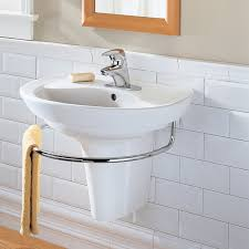Small Pedestal Bathroom Sinks Ravenna Wall Mount Bathroom Sink American Standard