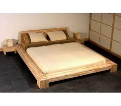 base de lit en bois massif lits futons
