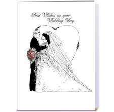 wedding wishes card images wedding wishes black and white greeting card by