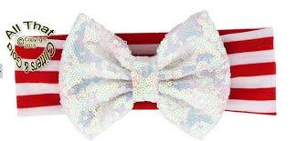 christmas headbands big bow christmas headbands baby sequin