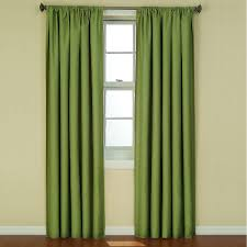 Eclipse Blackout Curtains Eclipse Kendall Blackout 63 In L Curtain Panel In Artichoke