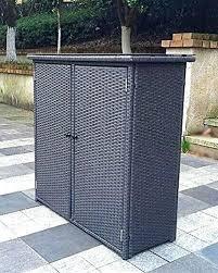 outdoor wicker storage cabinet outdoor wicker storage outdoor wicker storage cabinet pebble lane