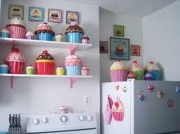 cupcake design kitchen accessories