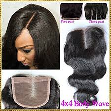 sew in with lace closure tomorrowlover wave closure side part