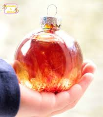 science in a bottle galaxy ornaments