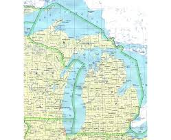Chicago Ord Map by Maps Of Michigan State Collection Of Detailed Maps Of Michigan