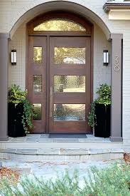 modern front door home interiors interior design spangle stained
