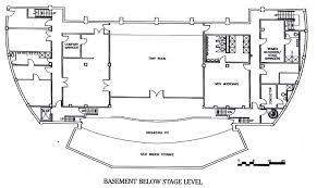 orchestra floor plan arizona state university tempe arizona