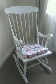 Pink Nursery Rocking Chair Dollshouse Nursery Rocking Chair Pink And White Rocker