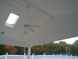 porch ceiling beadboard paneling