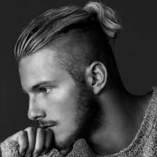 ponytail haircut for me shaved sides hairstyle for men