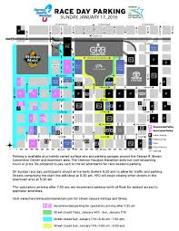 Austin Marathon Map by Parking For Chevron Houston Marathon Abc13 Com