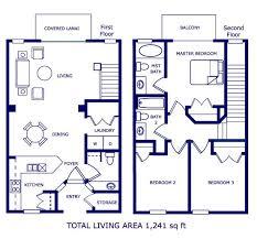 upstairs floor plans emerald island 3 4 5 6 7 bedroom townhome villa home floor plans