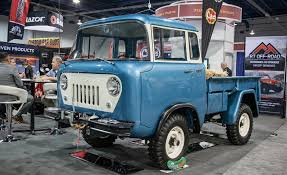 jeep forward control fcs jeepsters cjs and more the awesome classic jeeps of sema