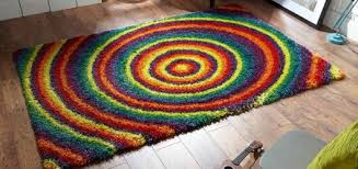 Semi Circle Rugs Round Rugs Circular Rugs Online For Sale Therugshopuk