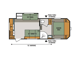 Rear Kitchen Rv Floor Plans by 2018 Kz Rv Sportsmen 231rk Milroy Pa Rvtrader Com