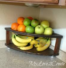 diy corner fruit tower my love 2 create