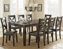 9 Pc Dining Room Sets by Steve Silver Crosspointe 9 Piece Dining Set With 18